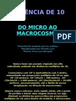 Níveis de Organização_MacroCosmos e MicroCosmos