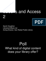 eBooks and Access 2