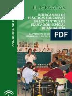 III JORNADAS DE PRÁCTICAS EDUCATIVAS EN CENTROS DE EDUCACIÓN ESPECIAL