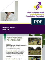 RSE - Regiane Alves - Congreso Virtual de Voluntariado