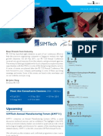 Sg.modelingConference PECOI Newsletter I2 2011