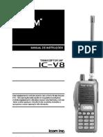 iCOM icv8-portugues