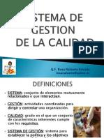 Sistemas Calidad - Dr. Rosa Nalvarte