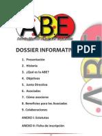 Dossier Informativo ABE y hoja de solicitud de afiliación