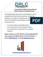 LA Public Housing Rights Flyer