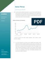 Analisis Materias Primas - Marzo 2011