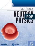 Reuss, P. - Neutron Physics (EDP Sciences, 2008)