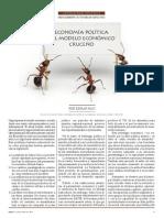 Economía política del modelo económico cruceño (Edgar Rau)