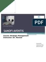 Sanofi Aventis - A Strategic Managment Presentation (Final)