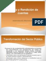 Transparencia y rendición de cuentas 07 - dic - 11