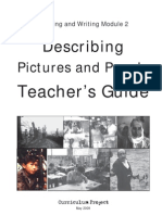RW 2 Describing Pictures and People Teacher