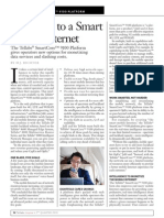 Tellabs Inspire Magazine - Five Steps to a Smart Mobile Internet
