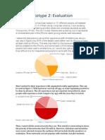 Paper Prototype 2 Evaluation
