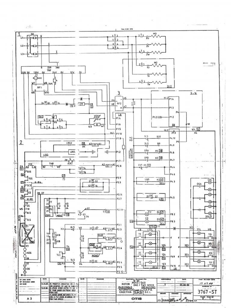 Otis Wiring Diagram - Wiring Diagrams Dash on