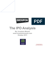 Groupon Stock Analysis