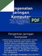 Pen Gen Alan Jaringan Komputer