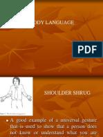 2nd Body Language