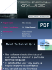 Technical Quiz Ppt1