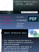 Technical Quiz Ppt1
