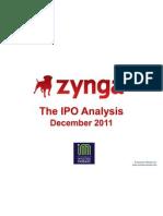 Zynga IPO Analysis
