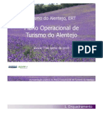 Plano Operacional ERT Alentejo 2011