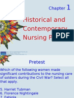 KOZIER-Chapter 1 Outline-Historical Contemporary Nursing Practice