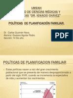 Politicas de Planificacion Familiar
