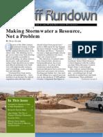 Fall 2008 California Runoff Rundown Newsletter