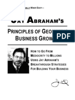Jay Abraham - Principles of Geometric Business Growth
