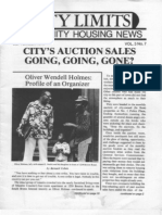 City Limits Magazine, September 1978 Issue