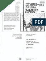 23588015 Rafaele Can Tar Ella La Literatura Griega de La Epoca a e Imperial