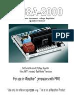 EA08A 2000 Manual