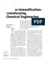 Process Intensification, Transforming Chemical Engineering