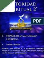 Autoridad Espiritual  Sumision y Rebelión 2