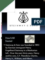 Steinway & Sons Appreciation