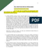 TALLER FINAL INVESTIGACIÓN DE OPERACIONES