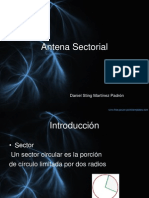 9. Antena Sectorial
