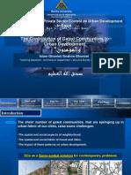 Privatization of Urban Development in Egypt (PhD presentation)