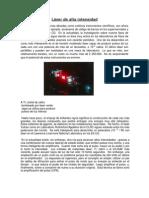 Láser de alta intensidad teoria de campos final