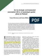 Biodiversity in Strategic Environmental Assessment, Finland