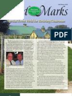 Fall - Winter 2010 Land Marks Newsletter, Maryland Environmental Trust