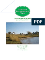 2009 Maryland Environmental Trust Annual Report