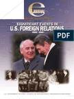 Significant Events in U.S. Forein Relations, 1900 - 2001