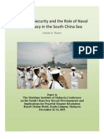 Thayer Maritime Security and Role of Naval Diplomacy in the South China Sea