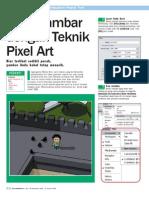 Menggambar Dengan Teknik Pixel Art