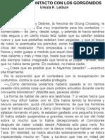 Le Guin Ursula K - El Primer Contacto Con Los Gorgonidos