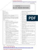 IGP CSAT Paper 1 Indian History Sources of Indian History