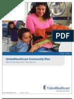 2011 Member Handbook English UHCCPforAdults NY
