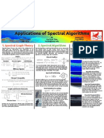 applications of spectral algorithms
