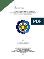 an Sistem Hidrolik Sebagai Mekanisme Penggerak Pada Mesin Pencetak Paving Dengan Tipe 12 Produk